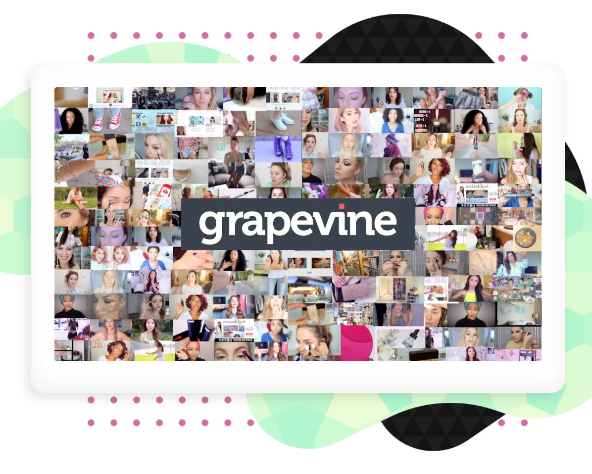 Grapevine | YouTube, Instagram, Facebook Influencers