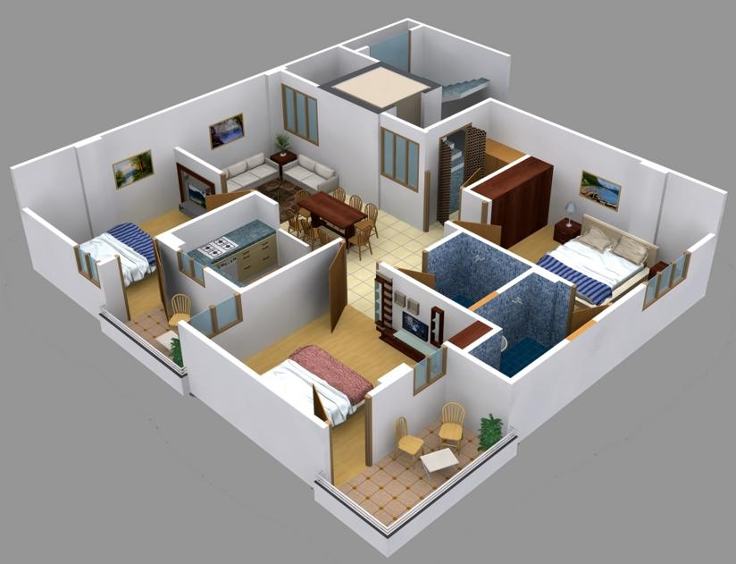 3d Floor Plan Screenshot