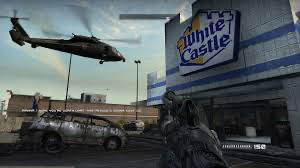 White Castle Video Game Product Placement Quick Serve Restaurant Examples