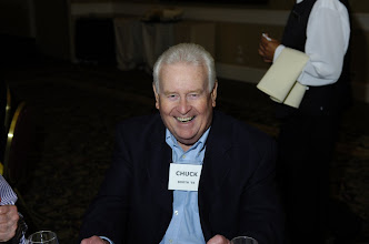 Photo: Chuck Booth, '56, husband of Bonnie Merry Booth