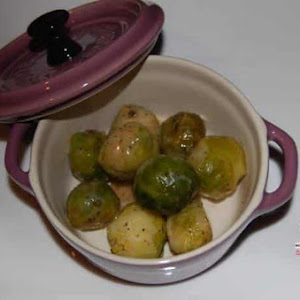 Sweet and Salty Brussels Sprouts