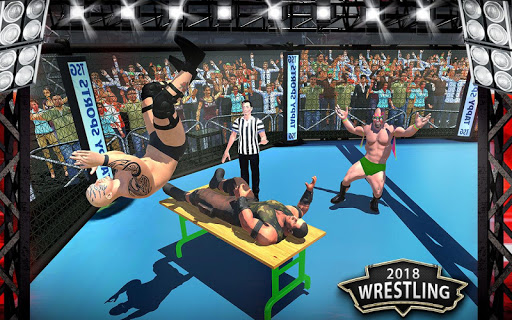 World Wrestling Revolution Mania Fighting Games 3D 1.0 screenshots 2