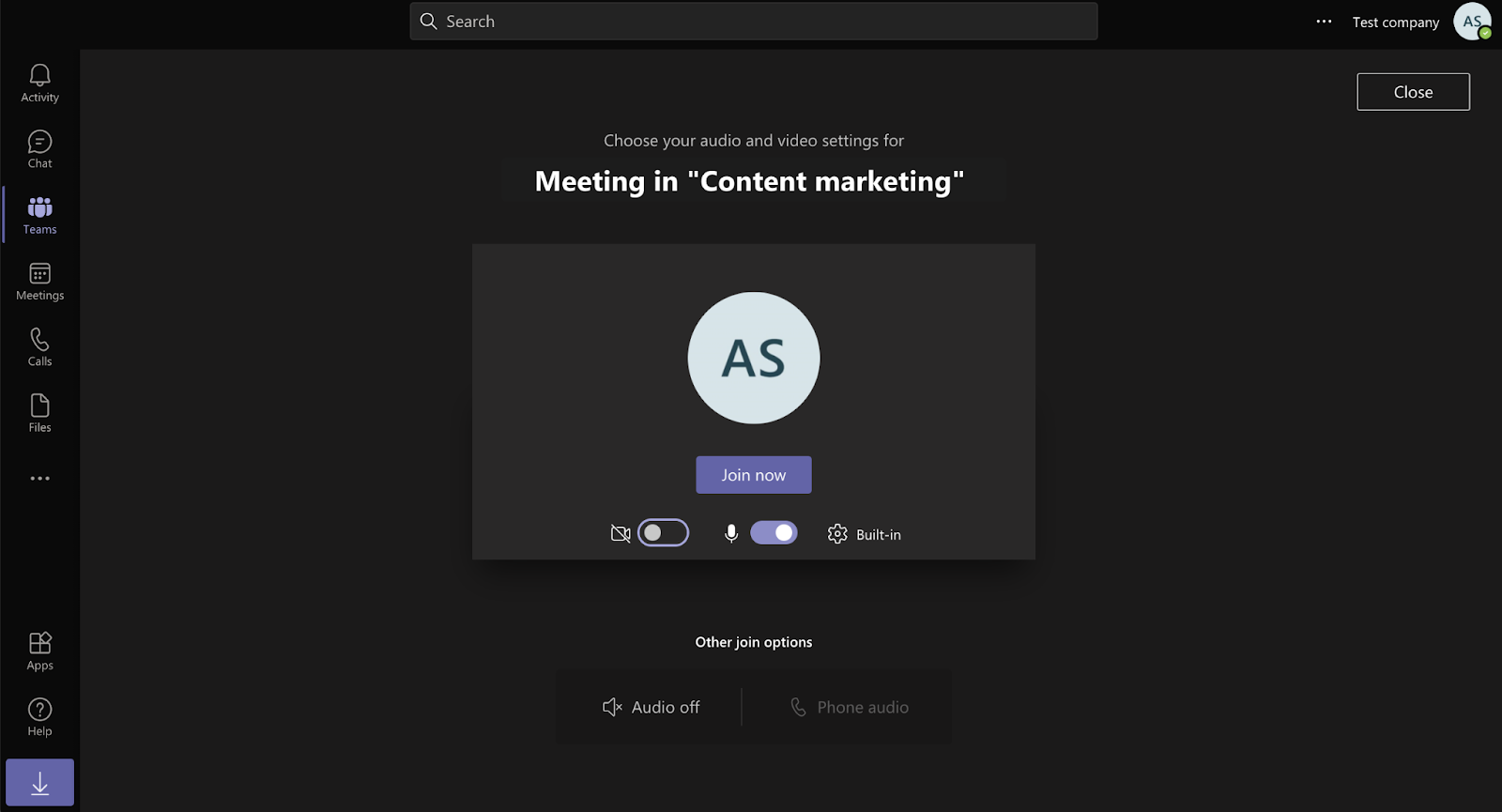 How to video call on Microsoft Teams