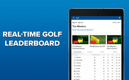 CBS Sports App - Scores, News, Stats & Watch Live 9.75 Screenshots 13