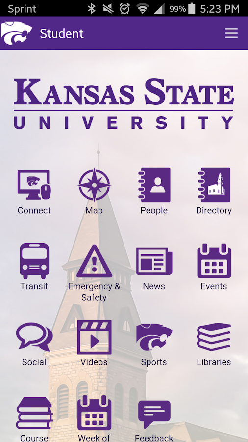 Kansas State Mobile- screenshot