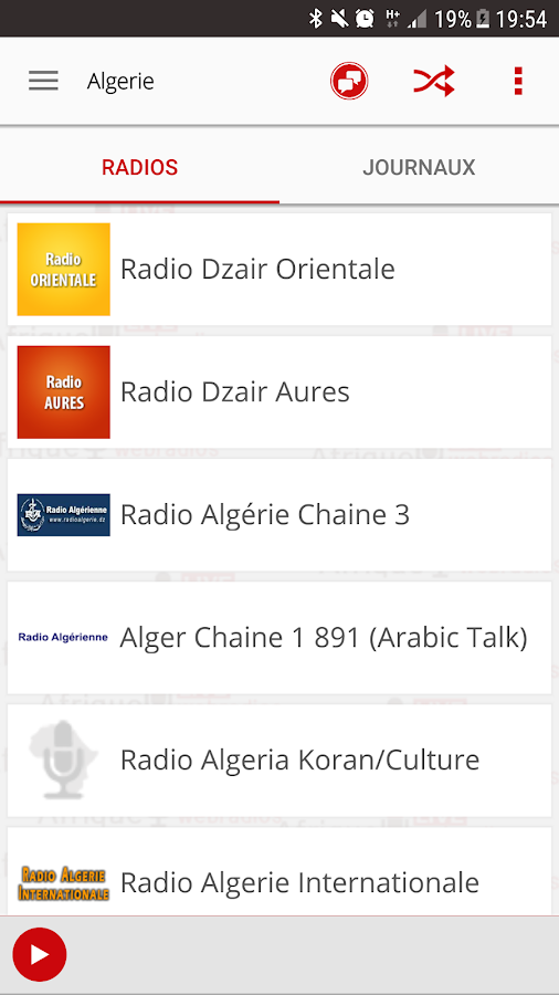 Africa Live radio & news- screenshot