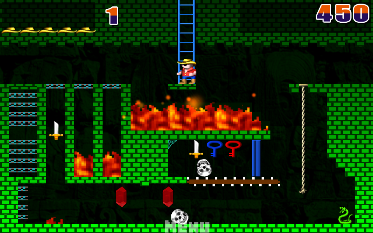 Montezuma's Revenge!- screenshot