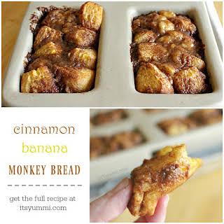 Cinnamon Banana Monkey Bread.