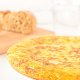 Tortilla (Spanish Omelette). Vegan and Gluten Free Recipe