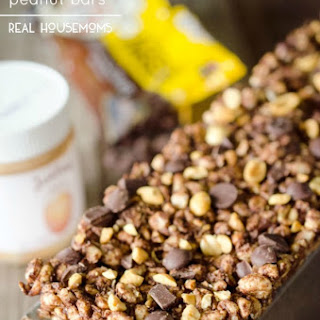 Light Chocolate Peanut Bars