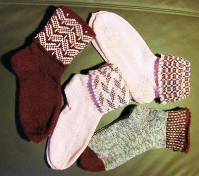 Socken a la Moni