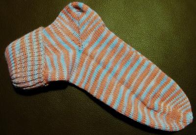 Socken auf Brother KH 965i