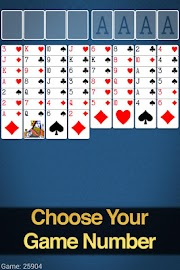 FreeCell Solitaire Screenshot 9