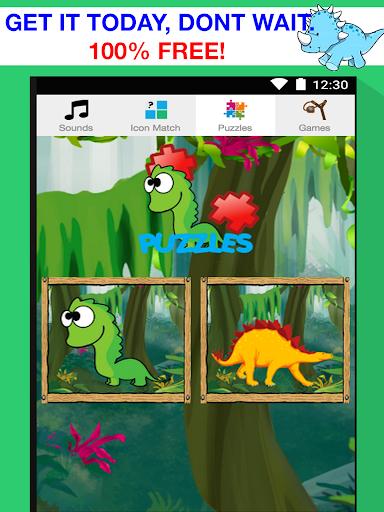 玩免費教育APP|下載Jurassic Dino Games for Kids app不用錢|硬是要APP