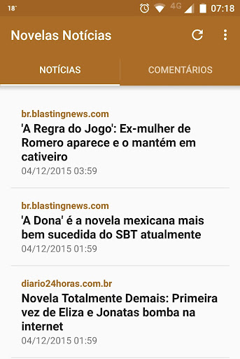 Novelas Notícias