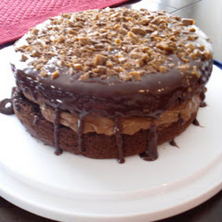 Chocolate Mousse Crunch Cake.