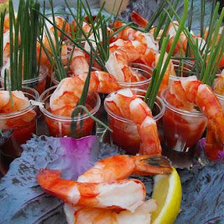 Cocktail Shrimp Shooters