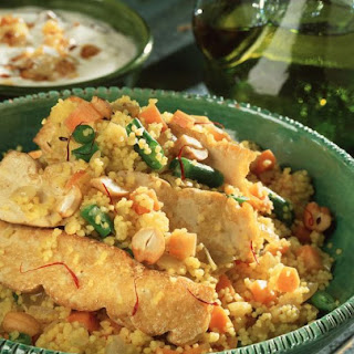 Spicy Couscous and Tofu