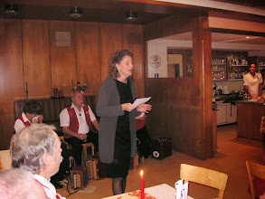 Photo: Ihre Schwiegertochter, Doris Ilg, übernahm nun das Zepter als Organisatorin.
