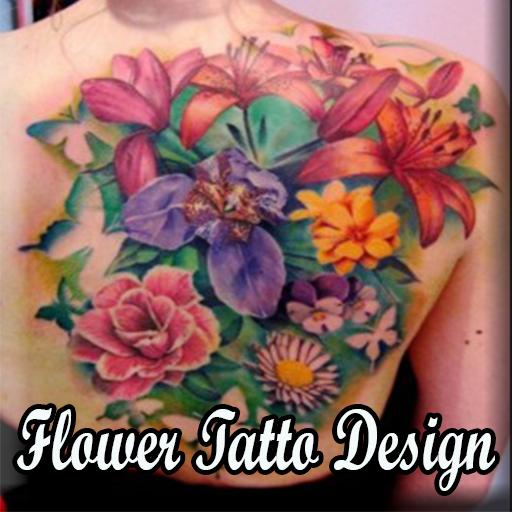 花のタトゥーのデザイン 生活 LOGO-玩APPs