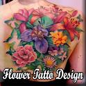 Flower Tatto Design icon