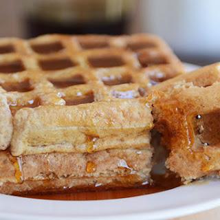 Overnight Buckwheat Oat Buttermilk Waffles or Pancakes.