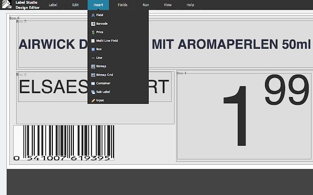 Next Generation Label Printing System - Google Sheets add-on
