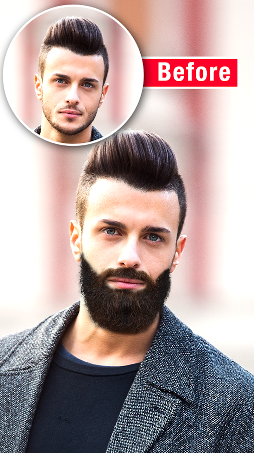 Men Mustache And Hair Styles Android Apps On Google Play - Hairstyle visualizer male