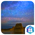 Beautiful Starry Sky Live Wallpaper icon
