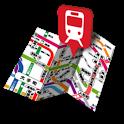 鉄道マップ 近畿/JR(1) icon