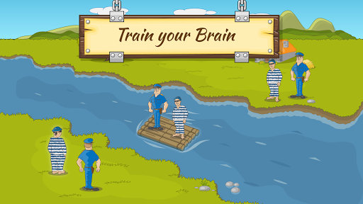 River Crossing IQ Logic Puzzles & Fun Brain Games 1.2.2 screenshots 8