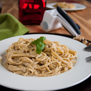 Linguine with Creamy Walnut Sauce.