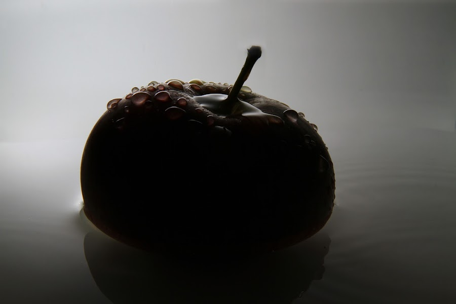 Apple by Adam Griffin - Abstract Fine Art ( apple )