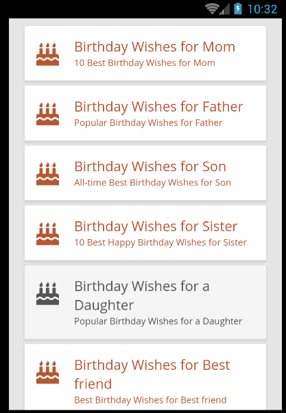 Happy Birthday Wishes Android Apps on Google Play – Birthday Greetings for Husband and Father