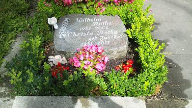 Photo: Das Grab meiner Eltern.