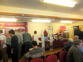 Photo: 014 The 7mm NG Association attended with a very well presented modelling goods, publications and publicity display .