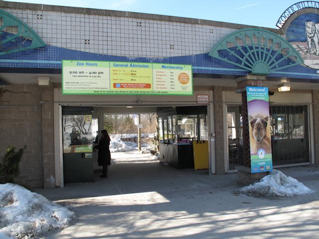 Wejście do zoo w Providence