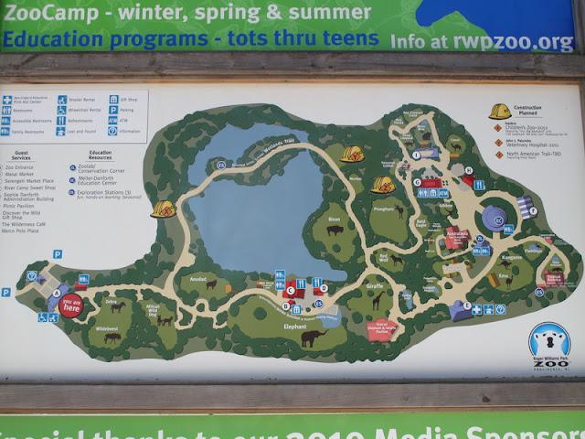 Mapa zoo w Providence