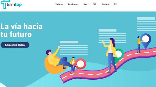 Aula Formación, centro de oposiciones, presenta www.traintop.es