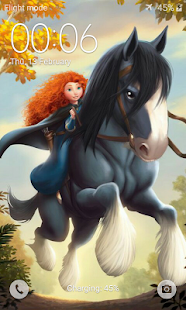 Redhead Princess Wallpaper