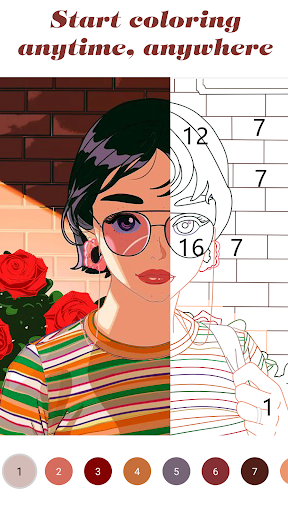 Color by Number screenshot 2