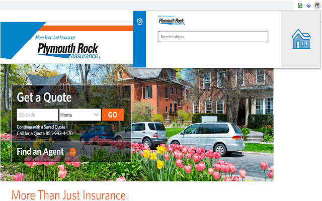 Plymouth Rock Assurance Browser Extension