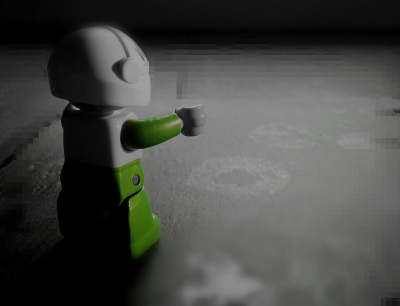 L'omino sulla luna... di Lisola