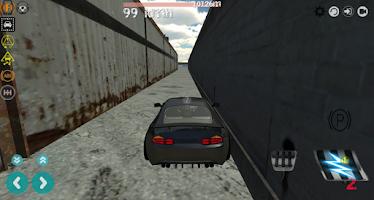 Screenshot of Airport Taxi Parking Drift 3D