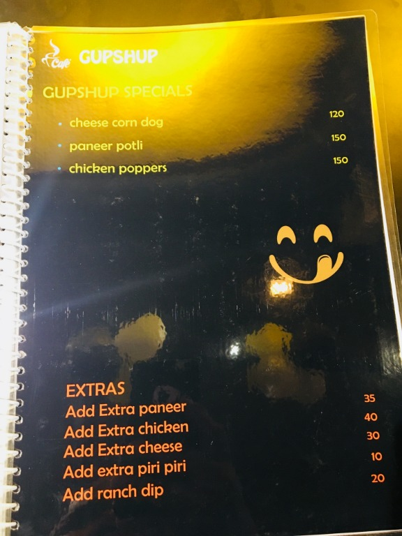 Cafe Gupshup menu 8