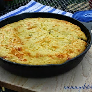 Mom's Meaty Cornbread Skillet & A Virtual Potluck