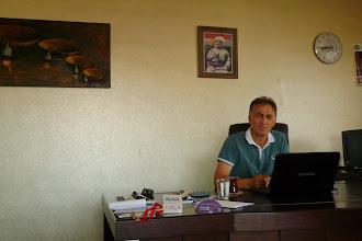 Photo: Mehmet Eren, journalist, director of the Kurdistan TV Diyarbakir office