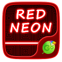 Red Neon GO Keyboard Theme icon