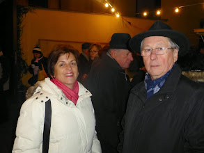 Photo: Vizebürgermeisterin Christa Niederhammer und Stadtrat Karl Kronberger.