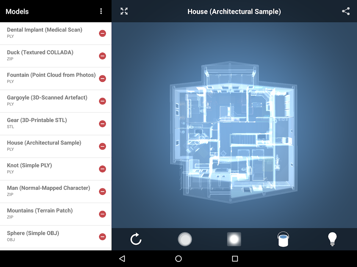 Emb3d 3d Model Viewer Android Apps On Google Play